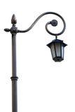 streetlight odosobniony biel Obrazy Stock
