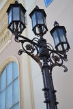 Streetlight with a pattern Royalty Free Stock Image