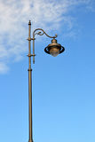 A streetlight pole with one lamp Royalty Free Stock Photography