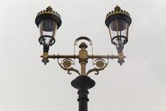 Streetlight in retro style Royalty Free Stock Photos