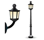 Streetlight Set Stock Images
