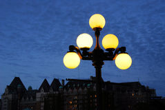 Streetlight and sky Royalty Free Stock Images