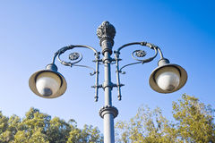 Streetlight of the 19th century Stock Image