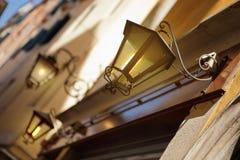 Streetlight in Venice, Italy Royalty Free Stock Photo