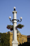 Streetlight, Zagreb Stock Photo