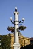 Streetlight, Zagreb Stock Photo