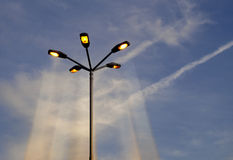 Streetlights  Stock Photo
