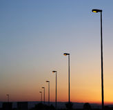 Streetlights Royalty Free Stock Photography