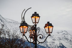 The streetlights Stock Image