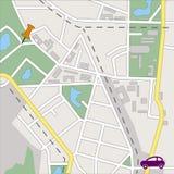 Streetmap Stock Photo
