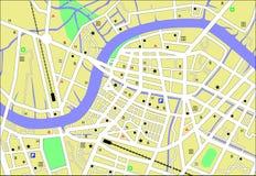 Streetmap Stock Afbeelding