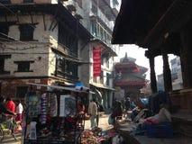 Streetphoto à Katmandou Photo libre de droits