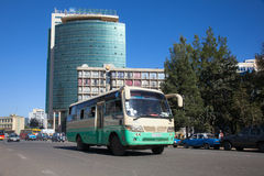 The streets of Addis Ababa Ethiopia Royalty Free Stock Photography