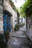 Streets of Afionas, Corfu Royalty Free Stock Photography