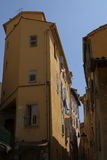 Streets of Ajacco Royalty Free Stock Photography