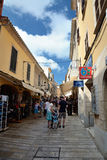 Streets of Alcudia Stock Images