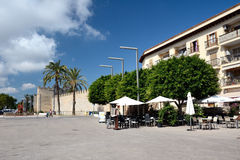 Streets of Alcudia Royalty Free Stock Photography