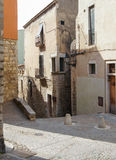 Streets and alleys Royalty Free Stock Images