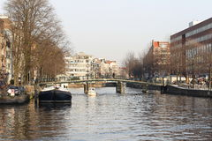 On the streets of Amsterdam Royalty Free Stock Photos