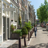 On the streets of Amsterdam Stock Photography