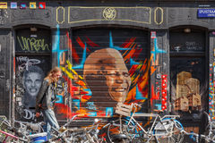 The streets of Amsterdam. Stock Images