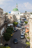 Streets of ancient city of Akko in the morning. Israel Stock Photography
