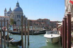 Streets And Canals Of Venice Stock Photos
