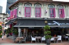 Streets Arab quarter, Kampong Glam Royalty Free Stock Image