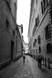 Streets and architecture of Rome Stock Image