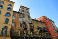 The streets and architecture of Verona, Italy Royalty Free Stock Photos