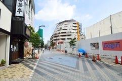 The streets of Asakusa area, Tokyo Royalty Free Stock Photo