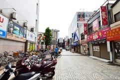 The streets of Asakusa area, Tokyo Stock Photo