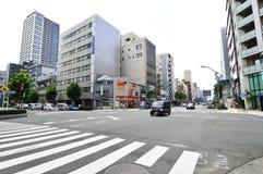 The streets of Asakusa area, Tokyo Royalty Free Stock Image