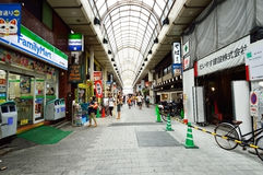 The streets of Asakusa area, Tokyo Stock Images