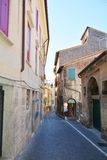 Streets in Asolo, Italy Royalty Free Stock Image