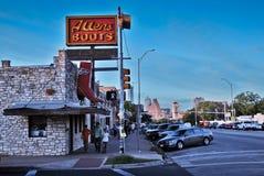 Streets of Austin, Texas Stock Photo