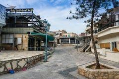 Streets of Ayia Napa, Cyprus Royalty Free Stock Image