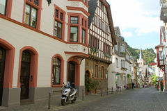 Streets of Bacharach Stock Image