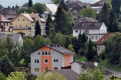 Streets of Bad Hall. Austria Stock Photos