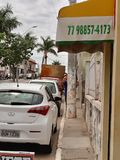 streets from Bahia stock image