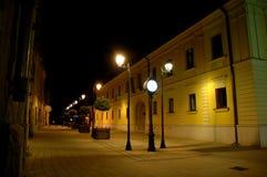 Streets of Baia Mare stock photo