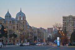 Streets of Baku Royalty Free Stock Photos