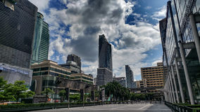 Streets of Bangkok royalty free stock photography