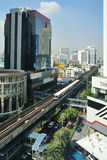Streets of Bangkok. Royalty Free Stock Photo