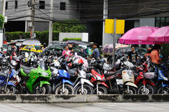Streets of the Bangkok. Stock Images