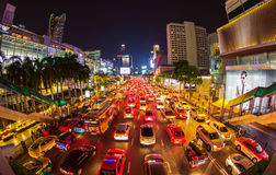 Streets of Bangkok Royalty Free Stock Image