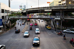 Streets of Bangkok. Stock Photo