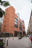 Streets of Barcelona Stock Photos