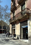 On the streets of Barcelona Royalty Free Stock Photo