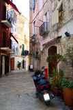 Streets of Bari, Italy Stock Photography